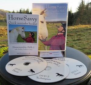 HorseSavvy horsemanship 3 DVD Set